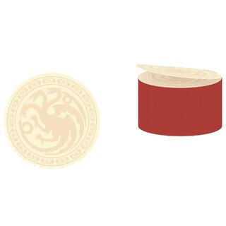 Postick Logo Targaryen Juego de Tronos-