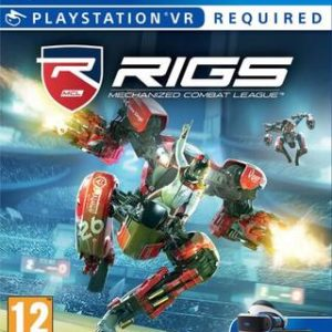 RIGS Mechanized Combat League VR-Sony Playstation 4