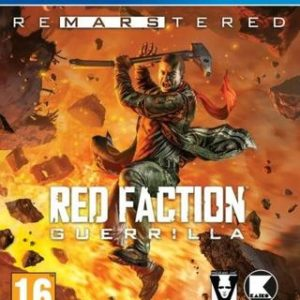 Red Faction: Guerrila Remarstered-Sony Playstation 4