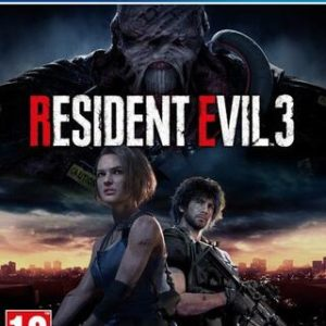 Resident Evil 3 Remake-Sony Playstation 4