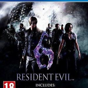 Resident Evil 6 HD-Sony Playstation 4
