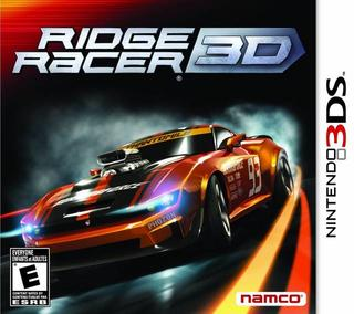 Ridge Racer 3D-Nintendo 3DS