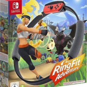 Ring Fit Adventure + Ring-Con + Cinta para la Pierna-Nintendo Switch
