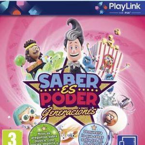 Saber es poder Generaciones-Sony Playstation 4