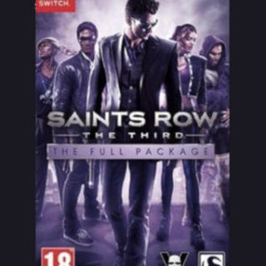 Saints Row The Third The Full Package-Nintendo Switch