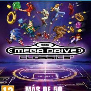 Sega Mega Drive Classics-Sony Playstation 4