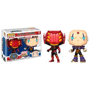 Set 2 Figuras Pop Capcom Vs. Marvel Ultron Vs Sigma Exclusive-