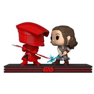 Set 2 Figuras Pop Star Wars Rey & Praetorian Guard-