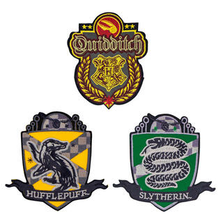 Set 3 Parches Quidditch Harry Potter-