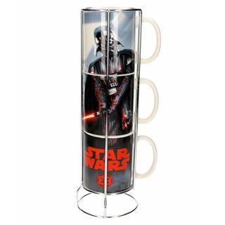 Set 3 Tazas Apilables Darth Vader Star Wars-