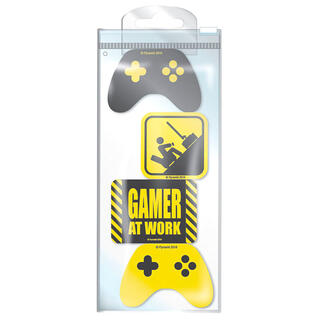 Set 4 Gomas de Borrar Gamer At Work Gaming-