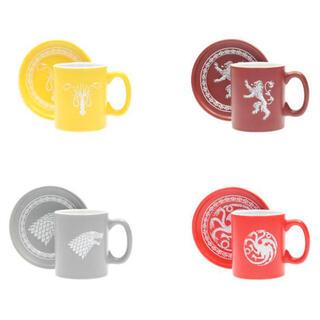 Set 4 Mini Tazas Espresso Emblemas Juego de Tronos-