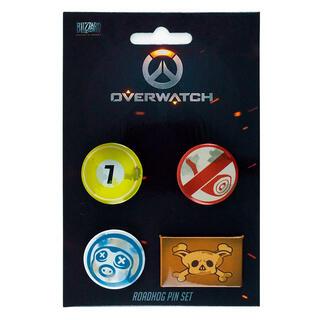Set 4 Pin Roadhog Overwatch-
