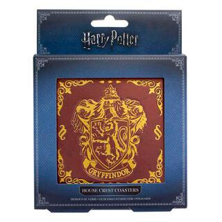 Set 4 Posavasos Metal Hogwarts Harry Potter-