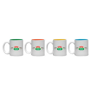 Set 4 Tazas Espresso Central Perk Friends-