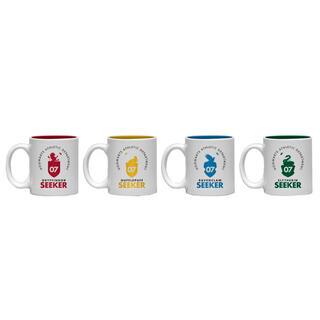 Set 4 Tazas Espresso Quidditch Harry Potter-