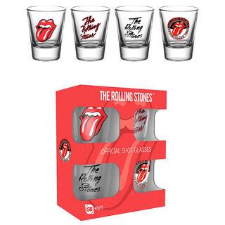 Set 4 Vasos Chupito The Rolling Stones-