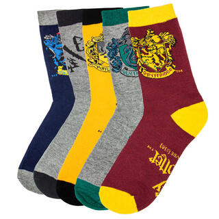 Set 5 Calcetines Harry Potter-