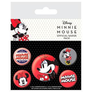 Set 5 Chapas Minnie Disney-