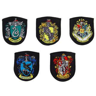 Set 5 Parches Hogwarts Harry Potter-