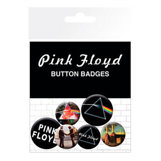 Set Chapas Album and Logos Pink Floyd-