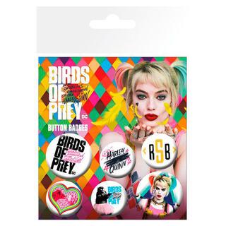 Set Chapas Birds of Prey Dc Comics-