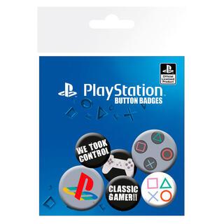 Set Chapas Classic Playstation-