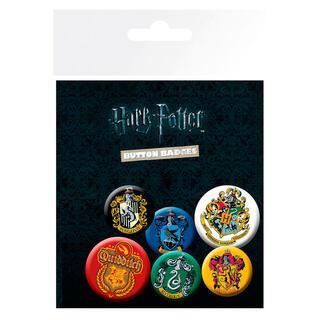 Set Chapas Crests Harry Potter-