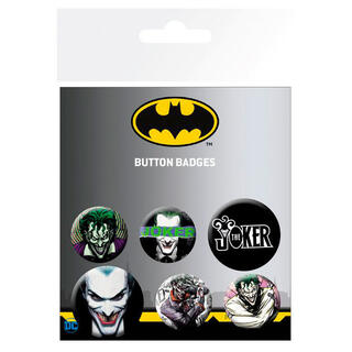 Set Chapas Joker Dc Comics-