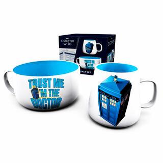 Set Desayuno Tardis Doctor Who-