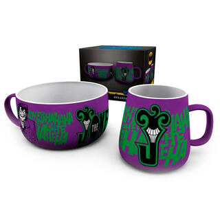 Set Desayuno The Joker Dc Comics-