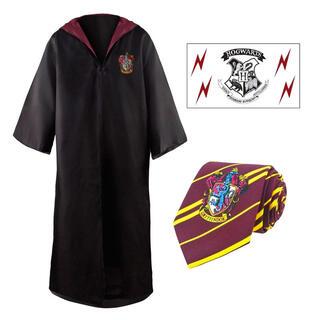 Set Tunica + Corbata + Tatuaje Gryffindor Harry Potter-