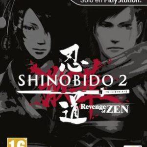 Shinobido 2: Revenge of Zen-Sony Playstation Vita