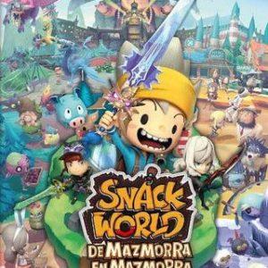 Snack World: De Mazmorra En Mazmorra-Nintendo Switch