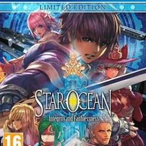 Star Ocean: Integrity and Faithlessness-Sony Playstation 4