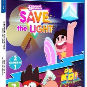 Steven Universe: Salva la Luz OK K.O. Quiero Ser Un Héroe-Sony Playstation 4
