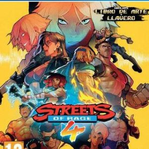 Streets of Rage 4-Sony Playstation 4