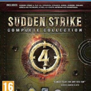 Sudden Strike 4 Complete Collection-Sony Playstation 4