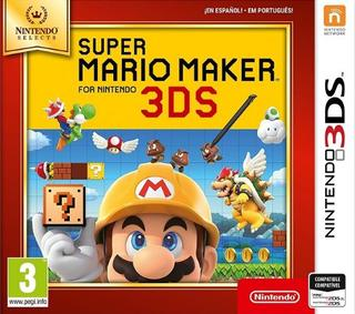 Super Mario Maker (Selects)-Nintendo 3DS