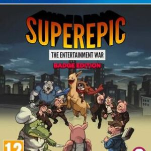 Superepic: The Entertainment War Collector Edition-Sony Playstation 4