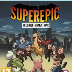 Superepic: The Entertainment War-Sony Playstation 4