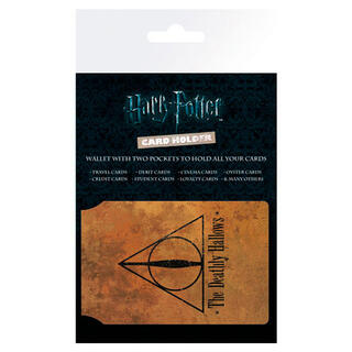 Tarjetero Deathly Hallows Harry Potter-