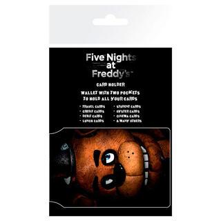 Tarjetero Fazbear Five Nights At Freddys-