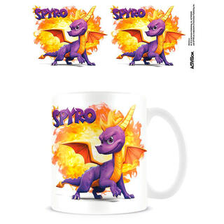 Taza Bola de Fuego Spyro The Dragon-