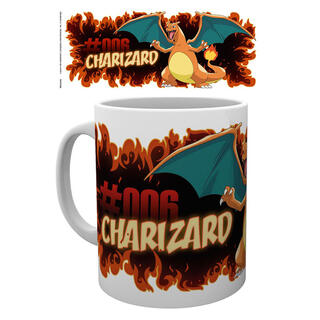 Taza Charizard Fire Pokemon-