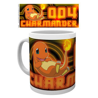 Taza Charmander Neon Pokemon-