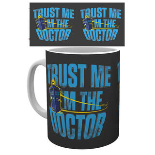 Taza Doctor Who Trust Me-