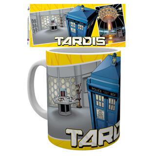 Taza Doctor Who Universe Tardis Scene-