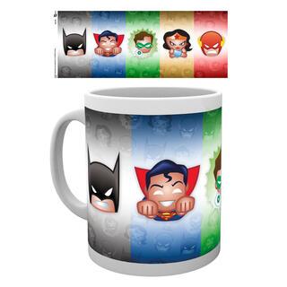 Taza Emoji Justice League Dc-
