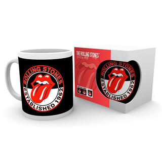 Taza Established The Rolling Stones-